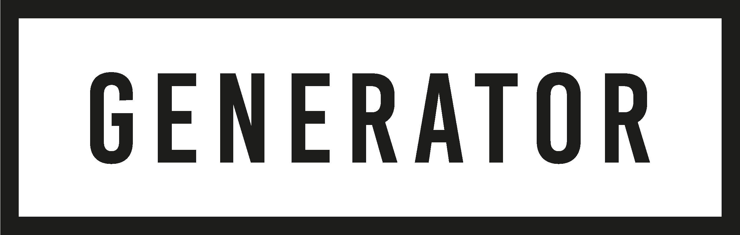 Generator_Primary Logo
